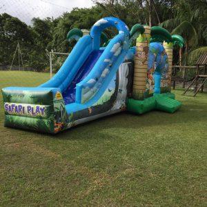 Safari Play-Tobogã com Pula-Pula e Escalada
